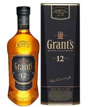 Виски Grant's 12 YO Грантс 12 лет 0,7л