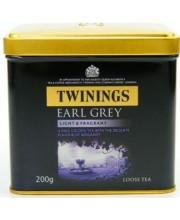 Чай Twinings Earl Grey Эрл Грей с бергамотом (Твайнингс или Твинингс) 200 g