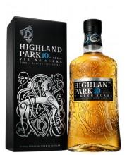 Виски Highland Park 10 лет в коробке 0,7л