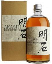 Виски Akashi Toji White Oak Whisky в коробке 0,7л