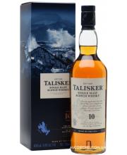 Виски Talisker Талискер 10 лет в коробке 0,7л