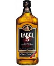 Виски Label Лэйбл 5 Finest Blended Scotch 2л