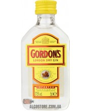 Джин Gordons Dry Gin 0.05L PET