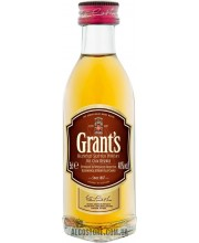 Виски Grant's Family Reserve 43% 0.05L PET