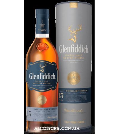 Виски Glenfiddich Distillery Edition 15 YO Гленфиддик 15 лет 1л