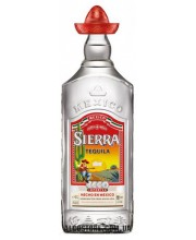 Текила Sierra Silver Сиерра Сильвер 1л