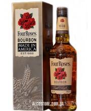 Виски Four Roses Metalbox 4 Розы в мет. коробке 1л