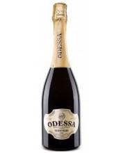 Вино Одесса полусладкое белое игристое 0,75л