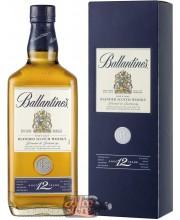 Виски Ballantine's 12 Years Old, with box Баллантайнс 12 лет выдержки, в коробке 1л