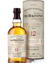 Виски Balvenie Triple Cask Балвени Трипл Каск 12 лет, в тубе 1л