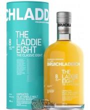 Виски Bruichladdich Laddie 8 50%, в тубе 0,7л
