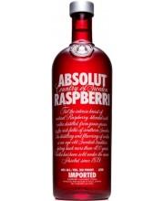 Водка Absolut Raspberry Абсолют Малина 1л
